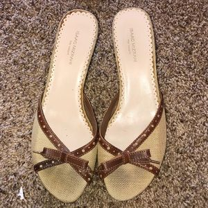 "Isaac Mizrahi ""Erica"" for Target sandal heel 10"